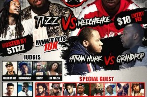 The Battle Academy Presents: Tizz Vs. Meechie Hoe (Ticket Link)