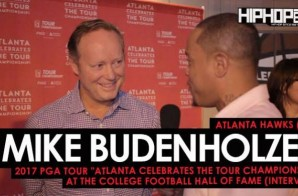 "Atlanta Hawks (HC) Mike Budenholzer Talks The Upcoming 2017-18 Atlanta Hawks Season, The New Look Eastern Conference, His Love For Golf & More at the 2017 PGA Tour ""Atlanta Celebrates the TOUR Championship"" at the College Football Hall of Fame"