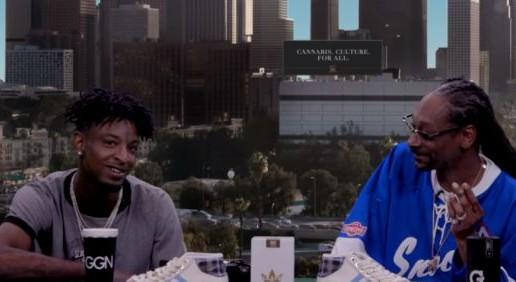 21 Savage Interview On 'GGN' With Snoop Dogg (Video)