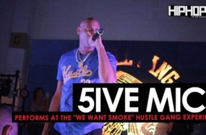 "5ive Mics Brings Our Lil Duval & Performs at the ""Hustle Gang Takeover"" at The Gathering Spot in Atlanta (Video)"