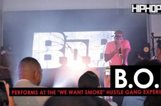 "B.o.B Performs ""Head Band"" & More at the ""Hustle Gang Takeover"" at The Gathering Spot in Atlanta (Video)"