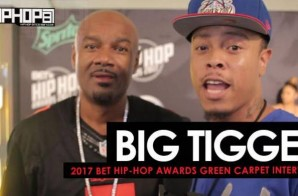 "Big Tigger Talks His New Vodka ""Danii"", The 2017-18 Atlanta Hawks & His Song of the Summer on the 2017 BET Hip-Hop Awards Green Carpet (Video)"