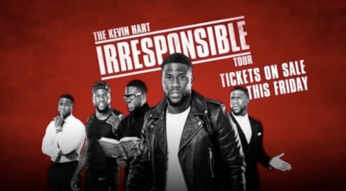 "DMTV8J5WAAAdWcD-500x277 The Kevin Hart ""Irresponsible Tour"" 2018 Dates Revealed"