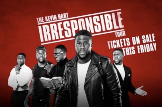 "The Kevin Hart ""Irresponsible Tour"" 2018 Dates Revealed"