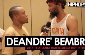 DeAndre Bembry Talks the 2017-18 Atlanta Hawks, His Goals For The Season & More During 2017-18 Atlanta Hawks Media Day with HHS1987 (Video)