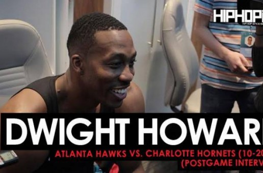 Dwight Howard Talks Playing Against the Hawks, Playing with Kemba Walker, Running with Buzz City, His First Home Game in Charlotte & More (Video)