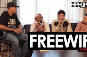 "FREEWIFI Talk Minneapolis' Music Scene, their New Record ""Ghost"", Their Starting 5 NBA All-Star, Top 5 Female Entertainers in the Game & More with HHS1987 (Video)"