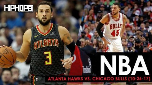 Hawks-Bulls-500x279 No Bull: The Atlanta Hawks Fall To The Chicago Bulls In The Final Game of Their 5 Game Road Trip