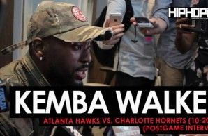 Kemba Walker Talks the Hornets 2017-18 Season, Dwight Howard, What He Sees in Malik Monk's Game & More (Video)
