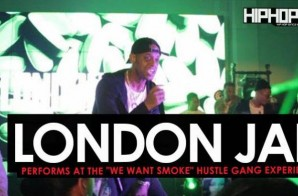 "London Jae Performs at the ""Hustle Gang Takeover"" at The Gathering Spot in Atlanta (Video)"