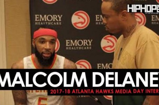 Malcolm Delaney Talks the New NikexNBA gear, His Favorite Basketball Sneakers, the 2017-18 Atlanta Hawks & More During 2017-18 Atlanta Hawks Media Day with HHS1987 (Video)