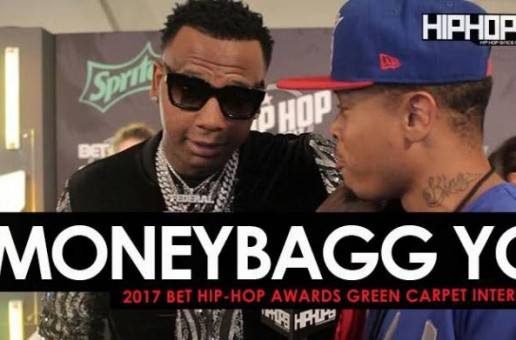 Moneybagg Yo Talks His Journey in the Music Business, His Favorite Project of the Summer & More on the 2017 BET Hip-Hop Awards Green Carpet (Video)