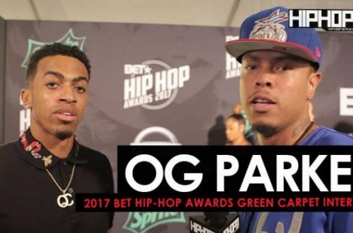 "OG Parker Talks Working with Migos & Gucci Mane, Producing Chris Brown's new record ""Pills & Automobiles"", & His Upcoming Project on the 2017 BET Hip-Hop Awards Green Carpet (Video)"