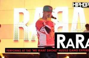 "RaRa Performs at the ""Hustle Gang Takeover"" at The Gathering Spot in Atlanta (Video)"