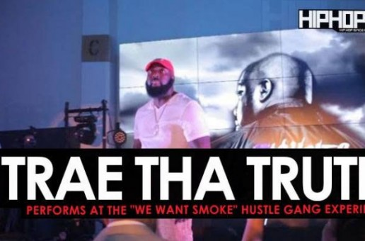 "Trae Tha Truth Performs at the ""Hustle Gang Takeover"" at The Gathering Spot in Atlanta (Video)"