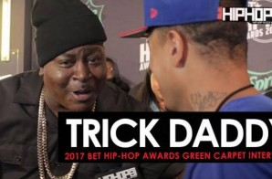 Trick Daddy Welcomes Us To Miami & More on the 2017 BET Hip-Hop Awards Green Carpet with HHS1987 (Video)
