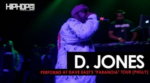 "d.-jones-dave-east-500x279 D. Jones Performs at Dave East's ""Paranoia Tour"" In Philly (HHS1987 Exclusive)"
