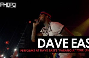 "Dave East Performs at his ""Paranoia Tour"" In Philly (HHS1987 Exclusive)"