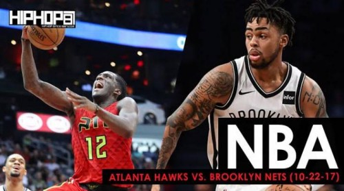hawks-nets-500x279 Is Brooklyn In The House: Atlanta Hawks vs. Brooklyn Nets (10-22-17) (Recap)