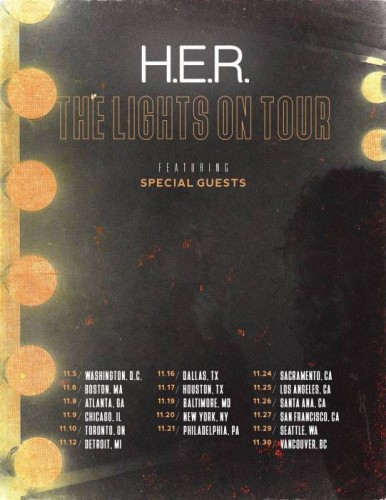 her-386x500 H.E.R. Announces The 'Lights On Tour'
