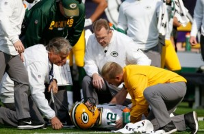 Who Cut The Cheese: Green Bay Packers QB Aaron Rodgers Could Miss The Rest of the Season With a Broken Collarbone