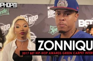 "Zonnique Talk Her Project 'Love Jones', Her New Video ""Patience"", the Misconceptions of Fame, Women Entrepreneurship & More on the 2017 BET Hip-Hop Awards Green Carpet"