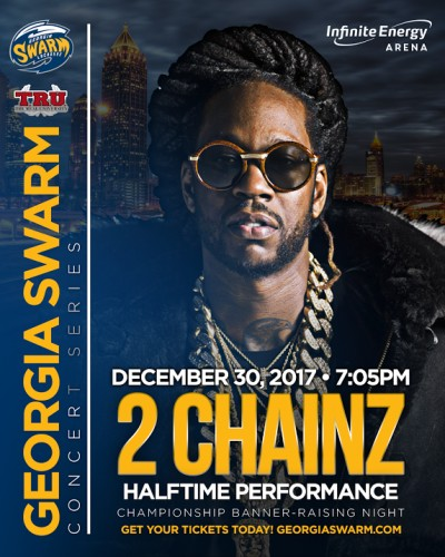 2-Chainz-400x500 Truuuuu: 2 Chainz Set To Perform at Halftime of the Georgia Swarm's Home Opener on Dec. 30th