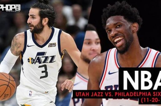 Rhythm & Utah Blues: Utah Jazz vs. Philadelphia Sixers (11-20-17) (Recap)