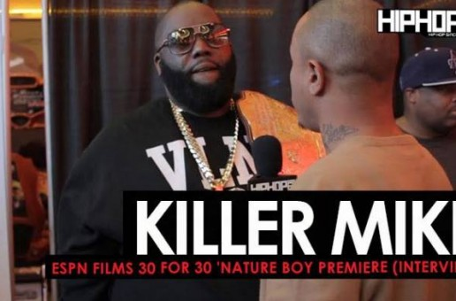 Killer Mike Talks His Favorite Ric Flair Moment, his SWAG Barbershops, Run The Jewels & More at the (ESPN Films 30 for 30 'Nature Boy Premiere) (Video)