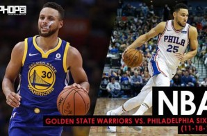 Tale Of Two Halves: Golden State Warriors vs. Philadelphia Sixers (11-18-17) (Recap)