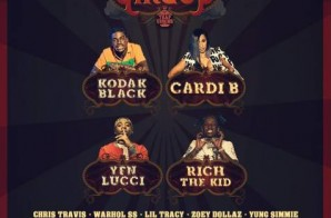 Cardi B, Kodak Black, YFN Lucci & Rich The Kid Set To Headline The 1st Annual Trap Circus Festival!