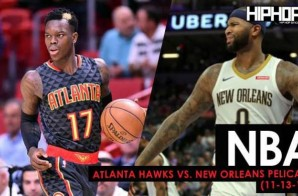 Close One In The Big Easy: Atlanta Hawks vs. New Orleans Pelicans (11-12-17) (Recap)