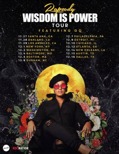 "unnamed-10-388x500 Rapsody Announces North American ""Laila's Wisdom"" Tour!"
