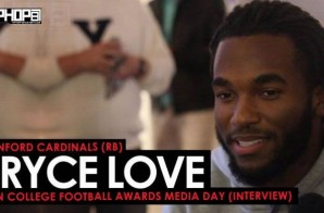 Bryce Love Talks J Cole, North Carolina, His Junior Season, the Heisman & More at the ESPN College Football Awards Media Day (Video)