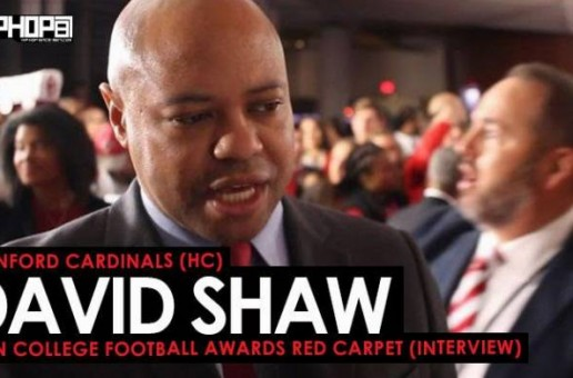 Stanford Cardinals (HC) David Shaw Talks Bryce Love, the Stanford Cardinals, NFL Coaching Noise & More on the ESPN College Football Awards Red Carpet (Video)