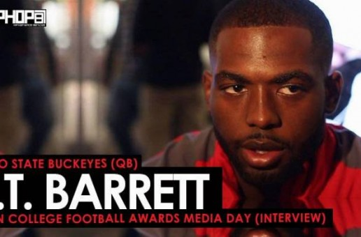 Ohio State Buckeyes (QB) J.T. Barrett Talks The Cotton Bowl, Facing USC, Playing On Sundays in the NFL, Ohio State Football & More (Video)