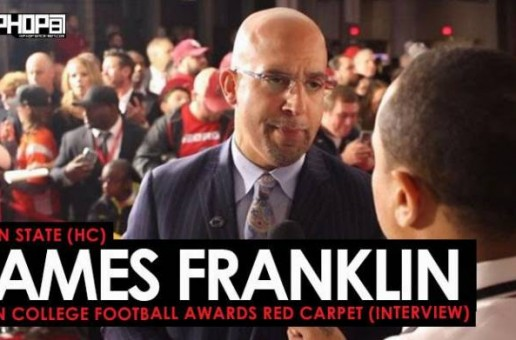 Penn State (HC) James Franklin Talks Saquon Barkley & Penn State Football at the ESPN College Football Awards Red Carpet (Video)