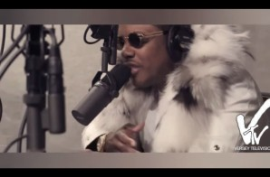 "Ma$e Freestyles ""Over Do It Again"" & ""Truffle Butter"" (Video)"
