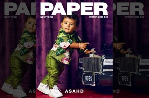 Asahd Khaled Covers Paper Magazine!