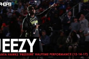 "Jeezy Performs ""Put On"", ""All There"" & More (Atlanta Hawks 'Pressure' Halftime Performance) (12-14-17)"