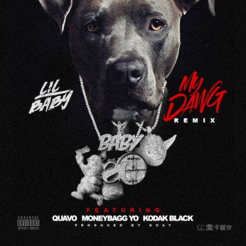 my-dawg-remix-500x500 Lil Baby - My Dawg (Remix) Ft. Quavo, MoneyBagg Yo & Kodak Black