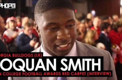 Georgia Bulldogs (LB) Roquan Smith Talks Winning the SEC, the Rose Bowl, Kirby Smart, Todd Gurley & More at the ESPN College Football Awards Red Carpet (Video)