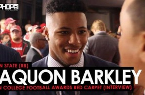 Penn State (RB) Saquon Barkley Talks Penn State's 2017 Season, the Nittany Lions Family & More at the ESPN College Football Awards Red Carpet (Video)