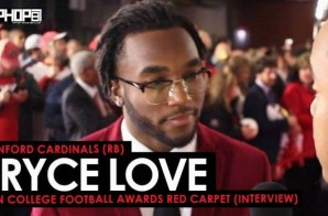 Bryce Love Talks The Hesiman Trophy, Stanford Football, Coach David Shaw & More at the ESPN College Football Awards (Video)