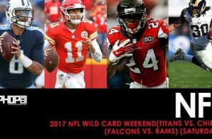 2017 NFL Wild Card Weekend (Titans vs. Chiefs) (Falcons vs. Rams) (Saturday) (Predictions)