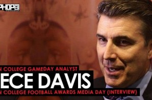 ESPN College Gameday Analyst Rece Davis Talks Baker Mayfield, Jalen Hurts, the CFB Playoffs, & More (Video)