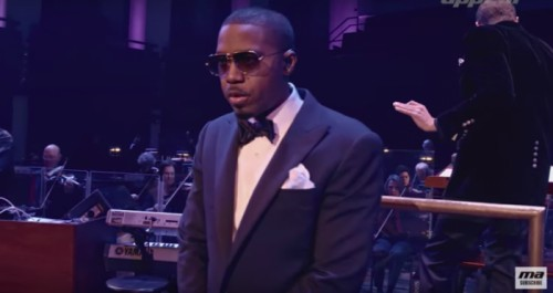 "Nas Performs ""Illmatic"" w/ National Symphony Orchestra In New"