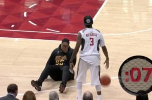 Stay On Your Toes: Atlanta Hawks Fan Gets His Ankle Broken By Streetball Legend Hot Sauce (Video)
