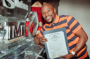 "The Key To OKC: Boxing Champ Floyd Mayweather Receives ""Floyd Mayweather Day"" In Oklahoma City"