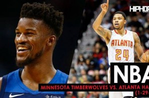 Controlling The Wolf Pack: Minnesota Timberwolves vs. Atlanta Hawks (1-29-18) (Recap)